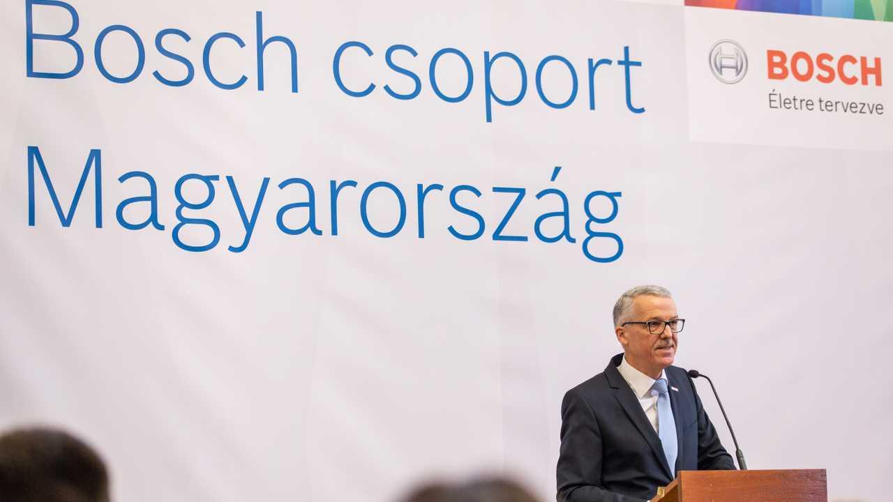 Fejleszti hatvani gyárát a Bosch