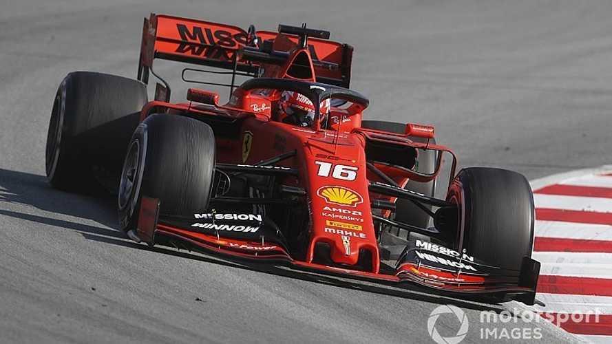 Leclerc asusta y Red Bull sufre en el séptimo día de test