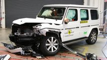 2018 Mercedes G-Class, Euro NCAP crash test