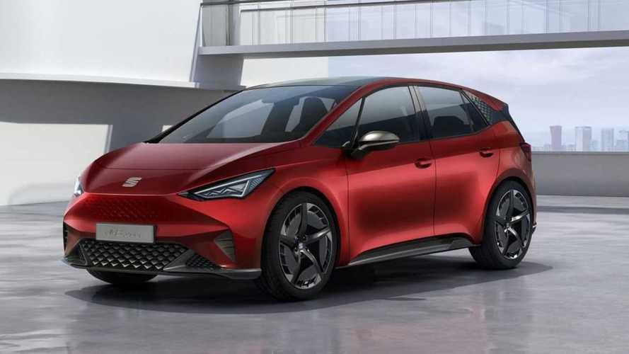 SEAT Reveals el-Born Long-Range Electric Hatchback
