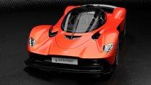 Aston Martin Valkyrie'nin Resmi Tanıtım Görüntüleri