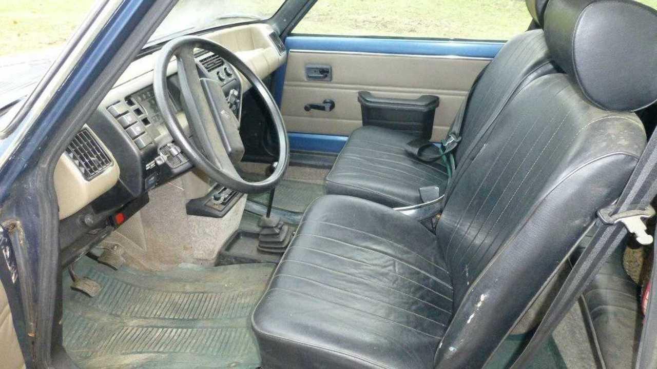 Renault Le Car 1980 intérieur