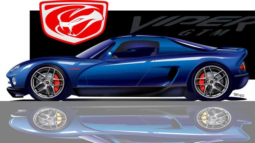 Previous Ford GT Idea Linked To Mid-Engined Viper
