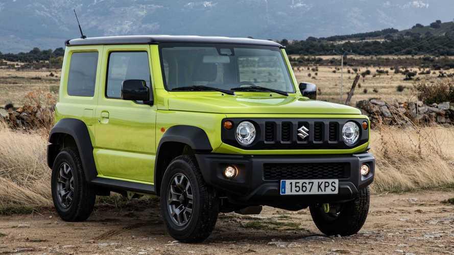 Novo Suzuki Jimny Sierra será lançado em novembro em três versões