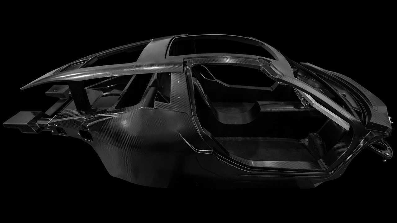 Hispano Suiza Carmen carbon fiber monocoque