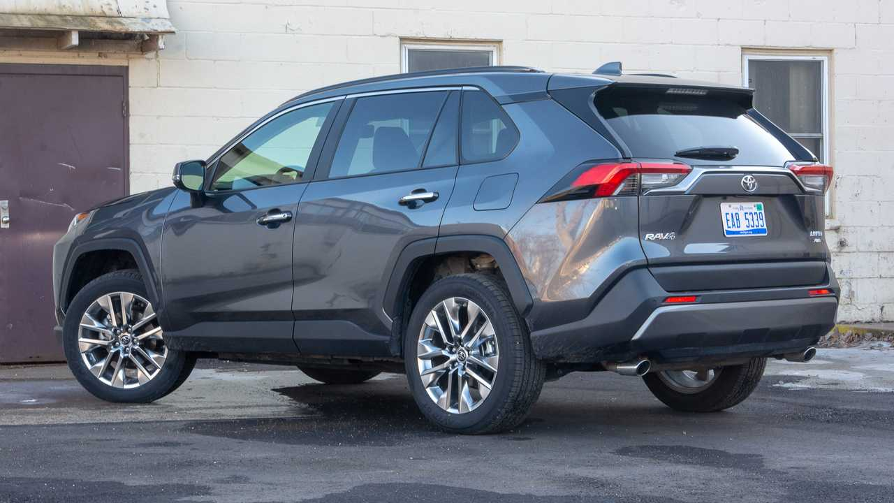 2019 Toyota RAV4 Limited Review: Hey Now, You're A RAV Star