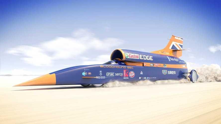 A 800 km/h-t célozhatja meg Dél-Afrikában a Bloodhound LSR