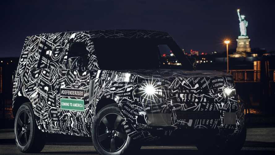 Land Rover Defender 2020 - América do Norte