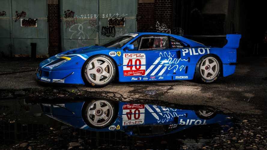 Un espectacular Ferrari F40 LM saldrá a subasta en febrero