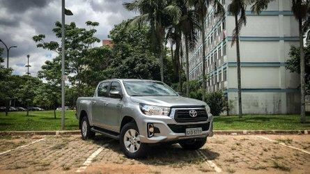 Teste instrumentado Toyota Hilux SR Flex 2019: Pouco além do botox