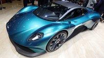 Aston Martin Vanquish Vision: Geneva Live