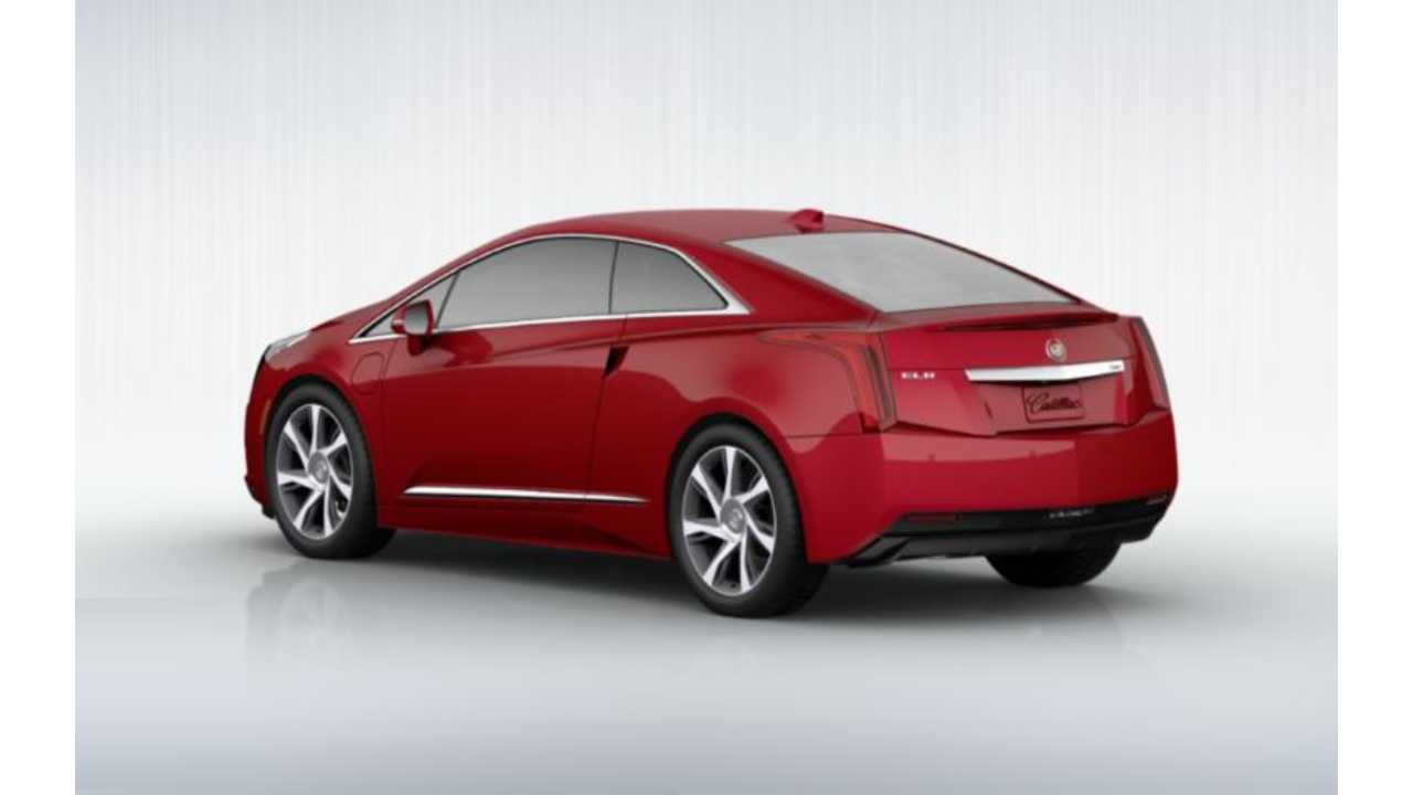 Configure Your Cadillac ELR In Red, With Fancy 20