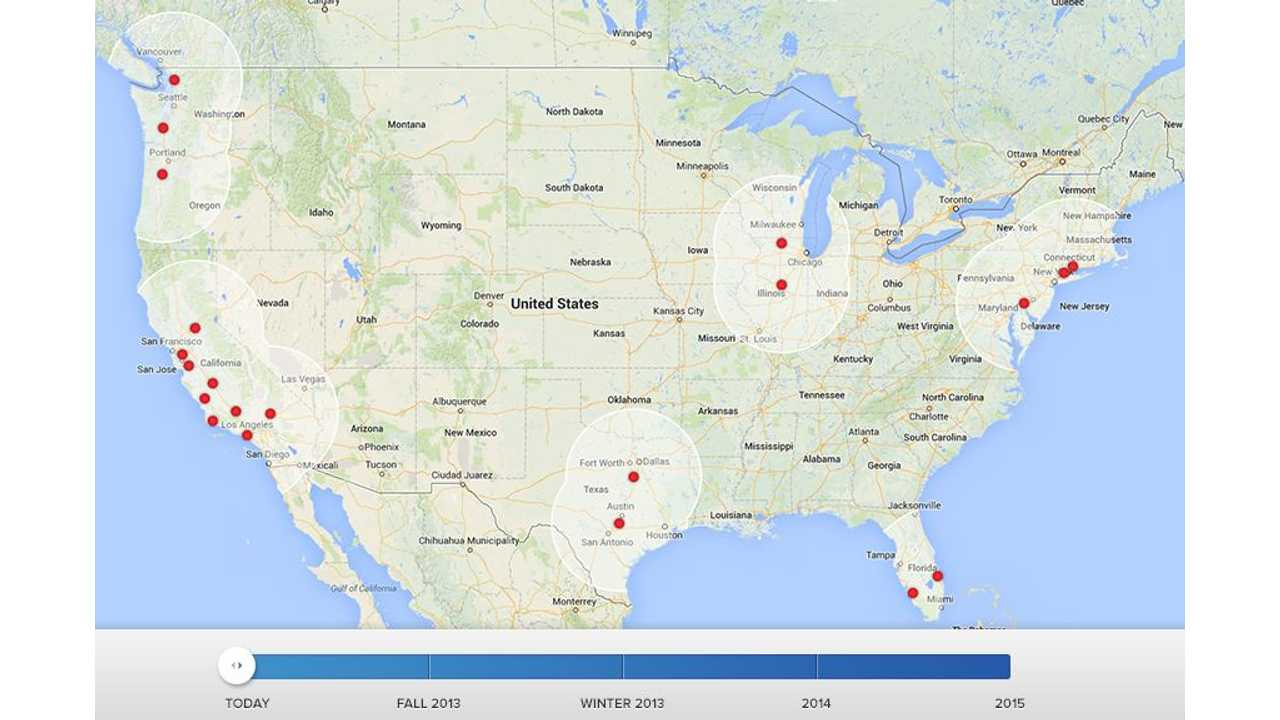 Tesla Charges Up Rockford, Illinois as One More Supercharger