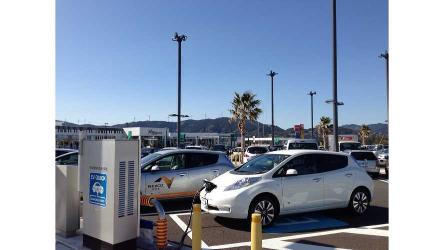 Toyota, Nissan, Honda and Mitsubishi Agree to Jointly Develop Charging Infrastructure in Japan