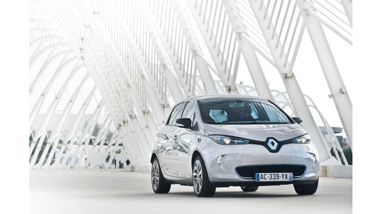 Renault Zoe is the Electric Vehicle You Want to Own