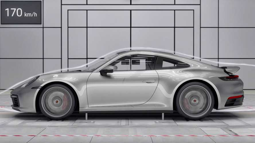 Watch The 2020 Porsche 911's Active Aero Master The Air
