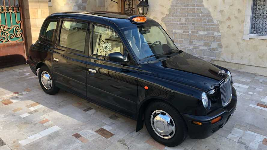 Rare Burberry Edition London Taxi Up For Auction