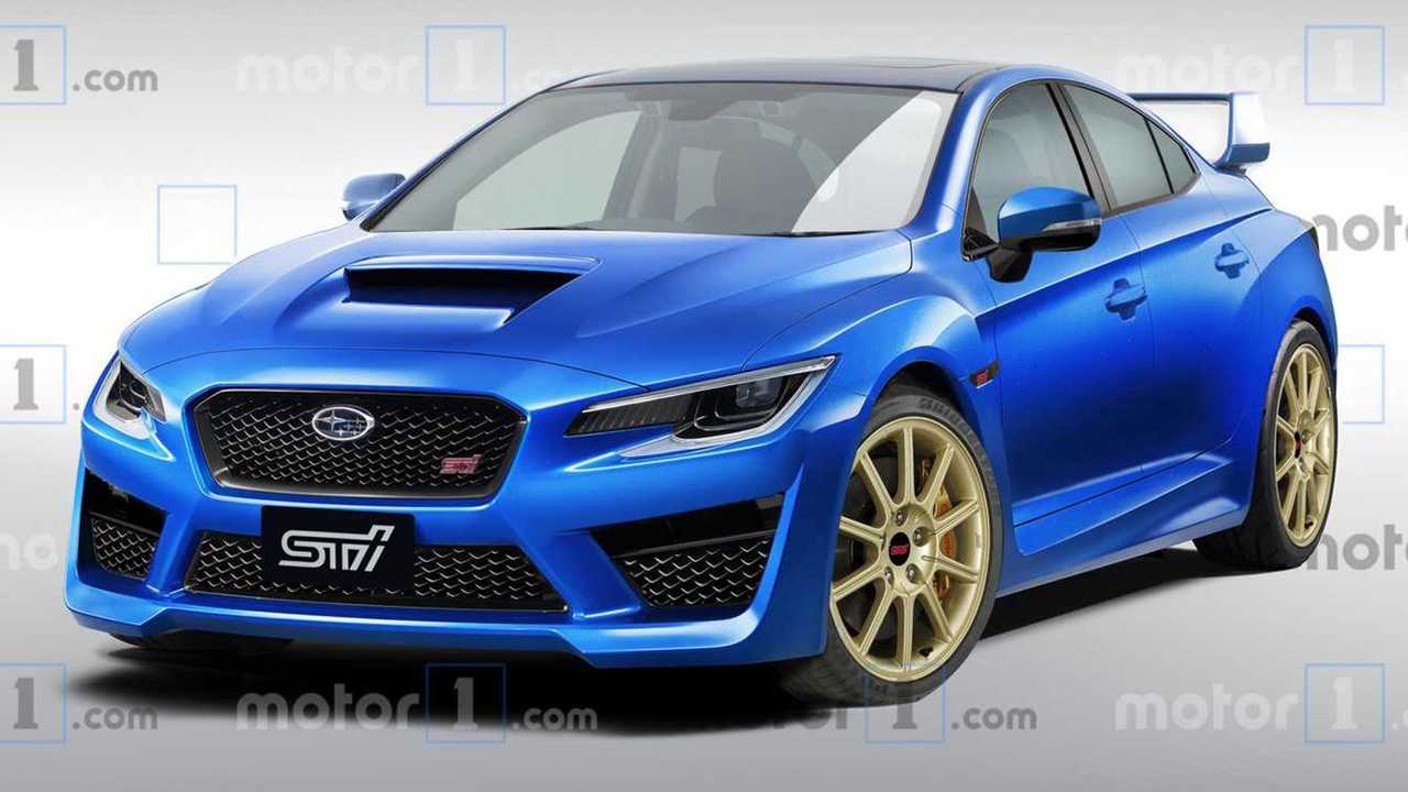 next subaru wrx sti rendering could this be the 2020 sti