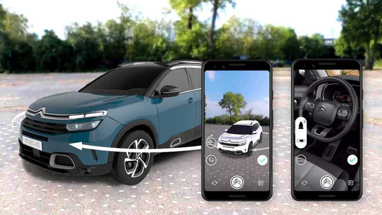 Citroën C5 configurateur réalité augmentée