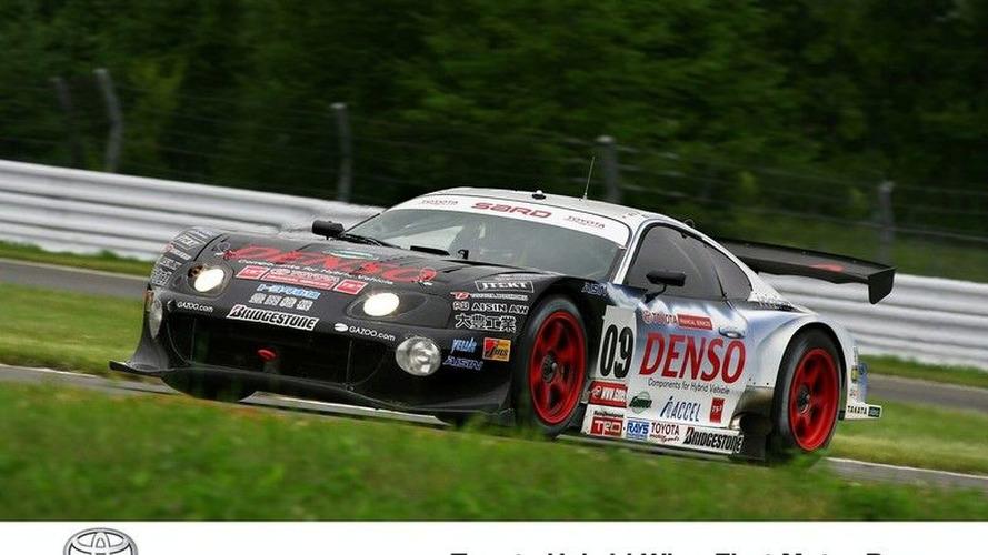 Toyota Wins Tokashi 24-Hour Race with Hybrid-Powered Supra