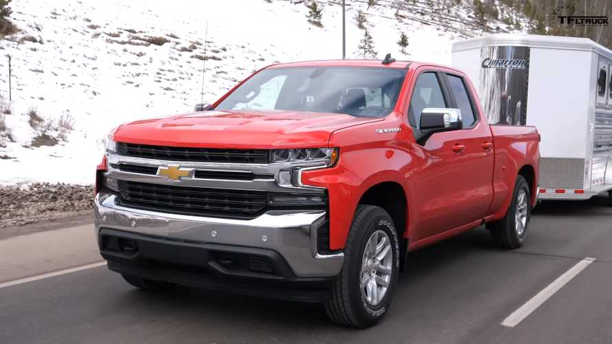 Chevrolet Silverado Four-Cylinder Tested At Max Towing Capacity