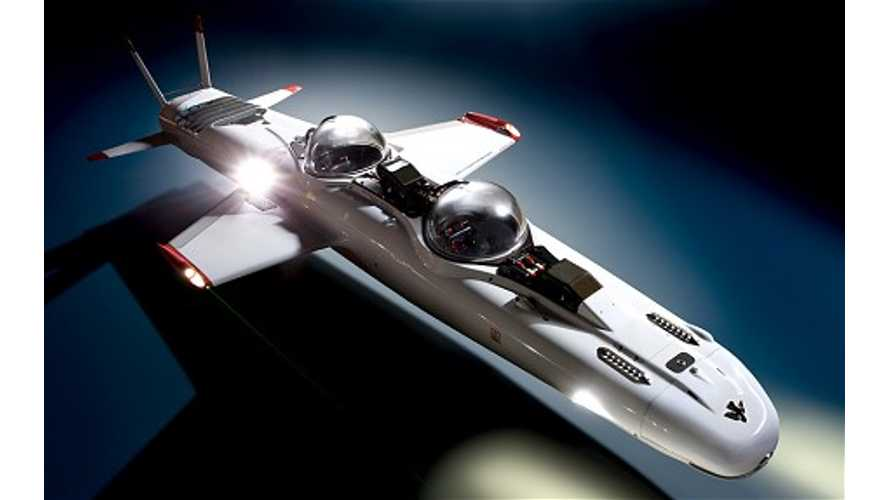 Video: DeepFlight Super Falcon Electric Underwater Airplane