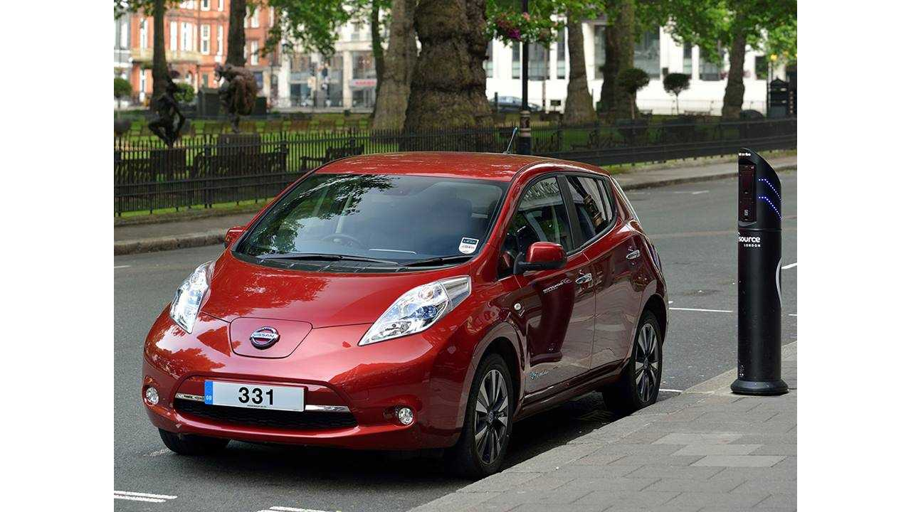 Nissan LEAF Leads the Sales Charge in the UK