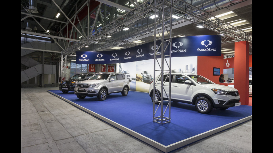 Ssangyong al Motor Show 2014