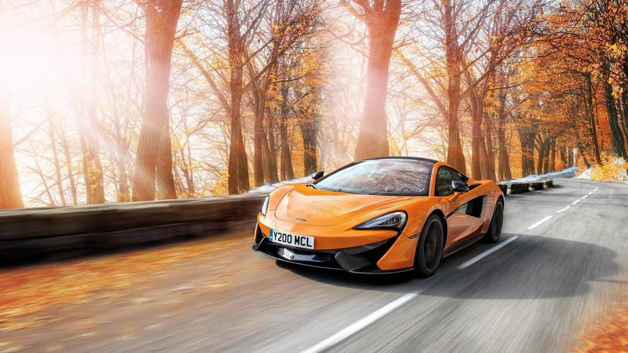 McLaren and Pirelli create winter tires for Sports Series cars