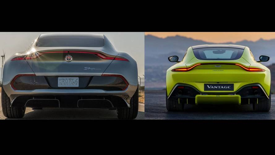 New Aston Martin Vantage Rear Sure Does Resemble Fisker eMotion