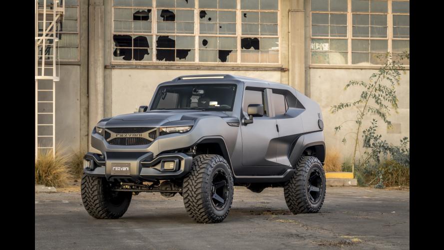 Rezvani Tank, il più estremo dei SUV