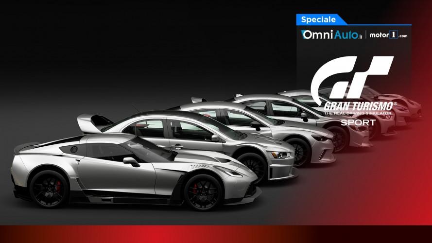 Gran Turismo Sport, annunciate tutte le auto e le piste