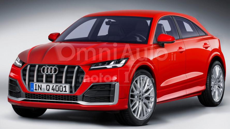 Audi Q4, nel 2019 il SUV-coupé di lunghezza media