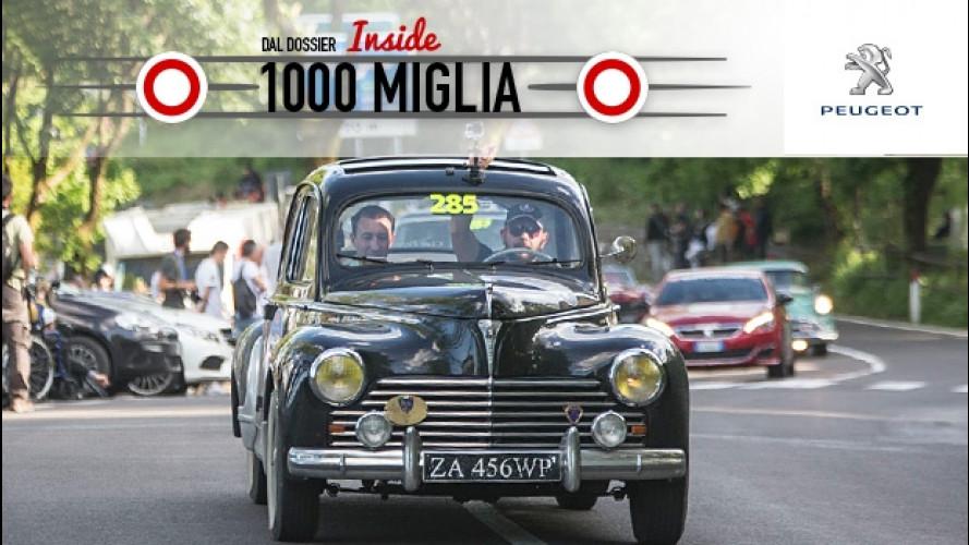 Inside Mille Miglia, da Parma a Brescia