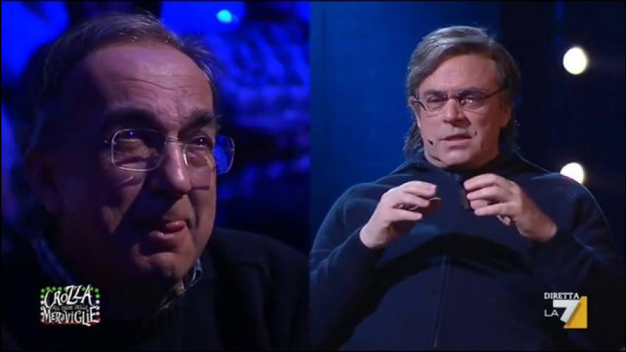 """Marchionne prende in giro """"Marchionne"""" sulla Alfa Romeo Giulia [VIDEO]"""