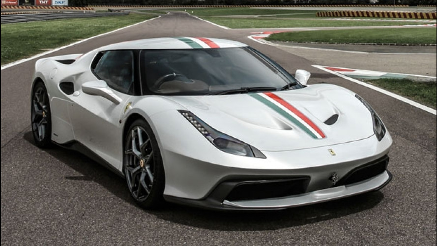 Ferrari 458 MM Speciale, una One-Off destinata all'Inghilterra