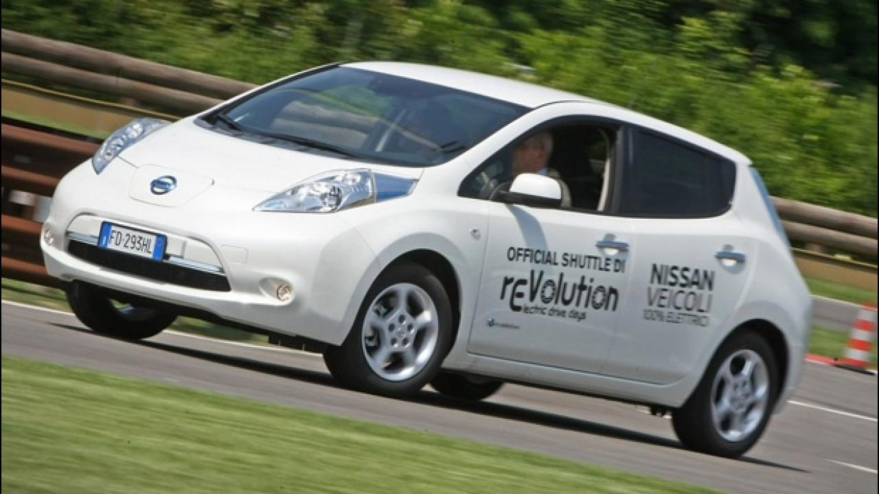 [Copertina] - rEVolution, le auto in prova nell'area test drive