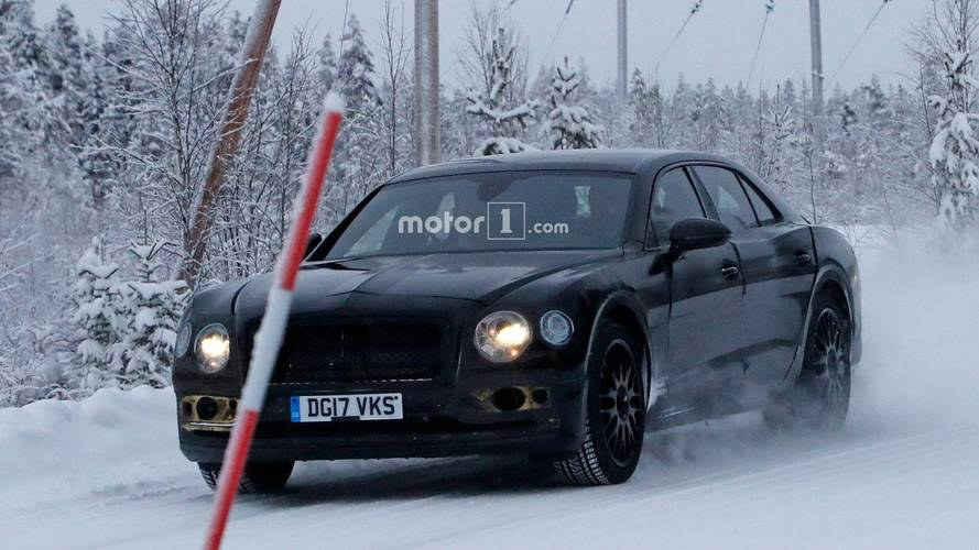 Bentley Flying Spur Spy Photos