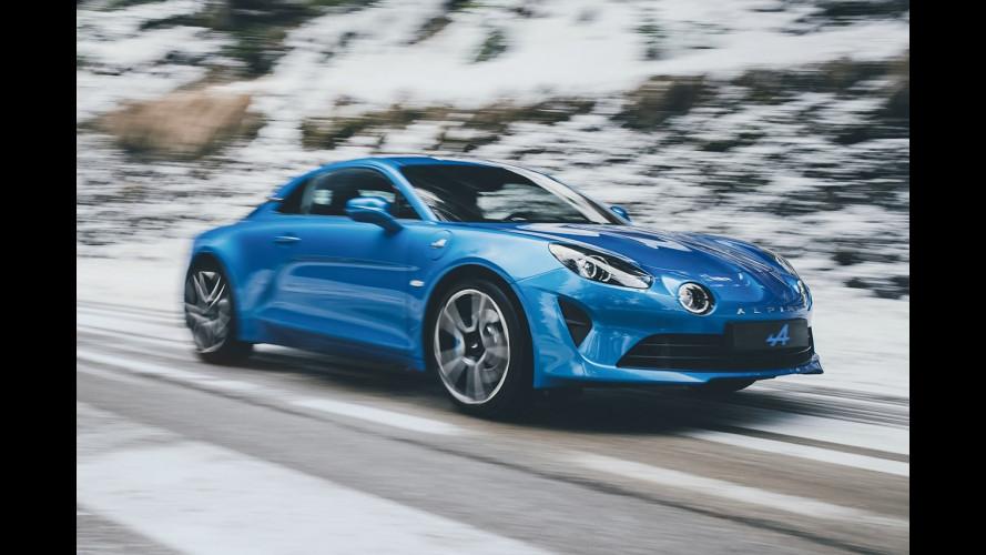 Alpine A110, il sogno proibito degli agenti francesi