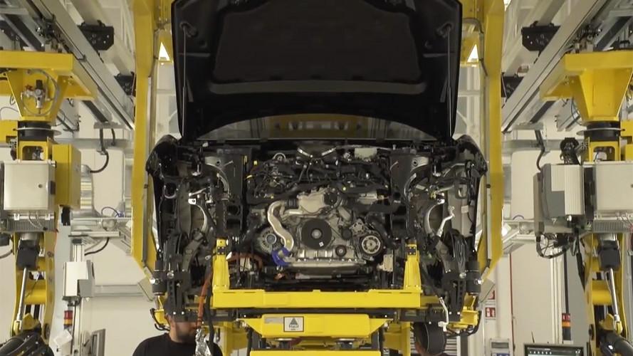 Lamborghini Urus, video teaser dalla fabbrica