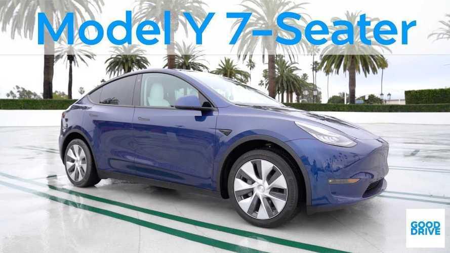 Tesla Model Y Siebensitzer: Video zeigt, wie viel Platz in Reihe drei ist