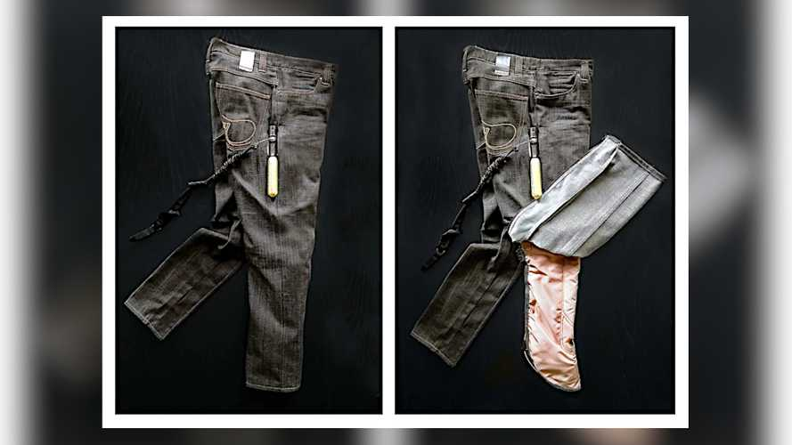Airbag Jeans For Motorcycle Riders Under Development In Sweden