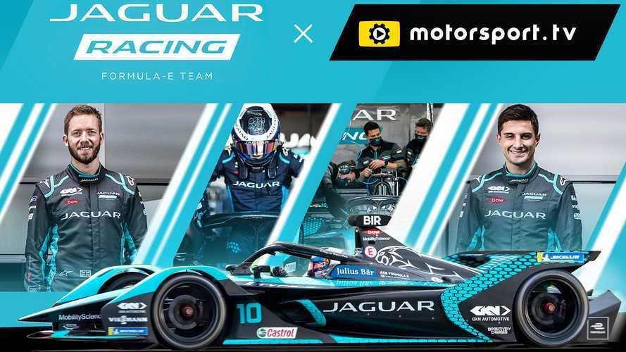 Jaguar leva fãs para dentro da Fórmula E com canal na Motorsport.tv