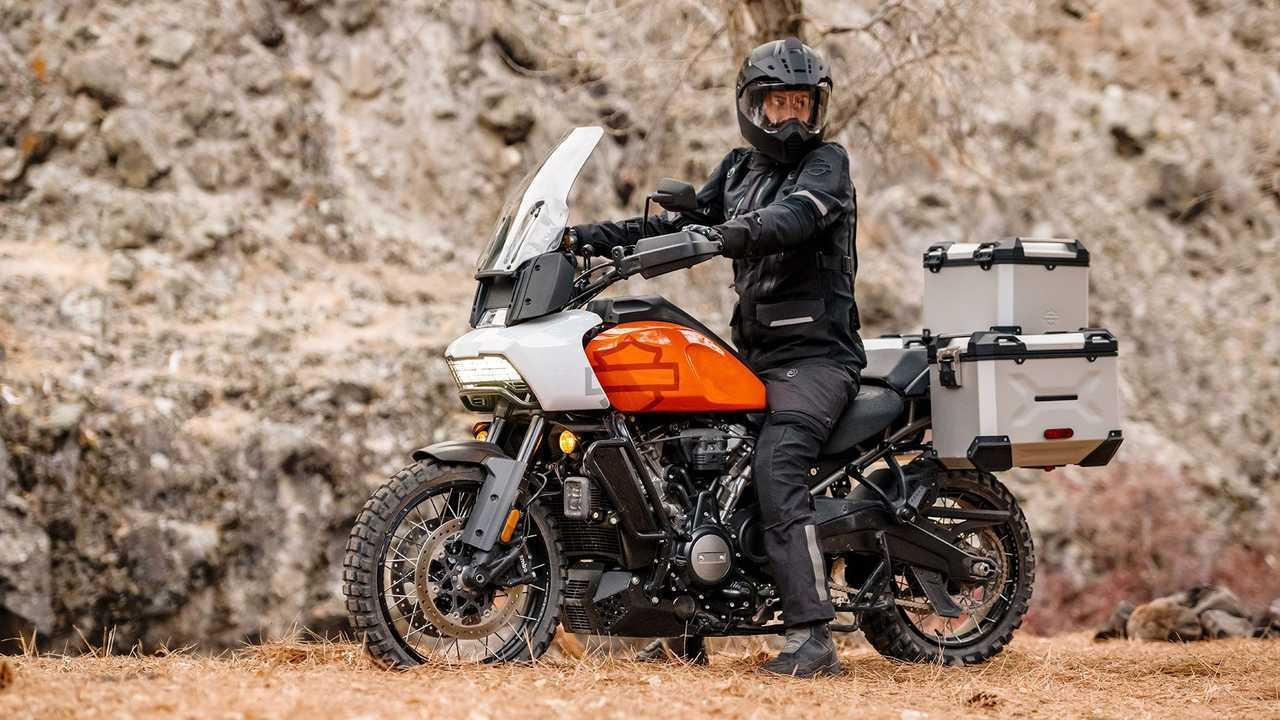 Harley-Davidson Pan America, Hero, Orange