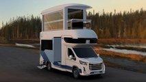 Der MaxusLife Home V90 Villa Edition ist ein Doppelstock-Camper