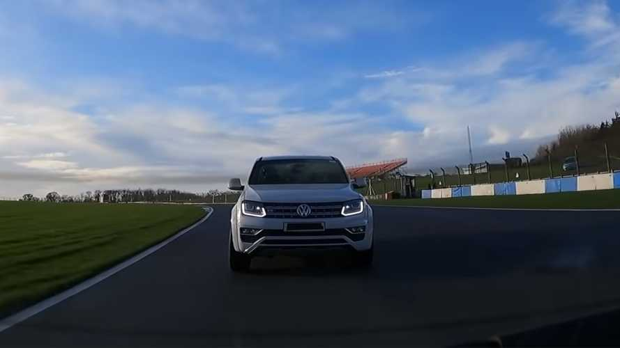 400-bhp VW Amarok V6 truck hits the track in the UK