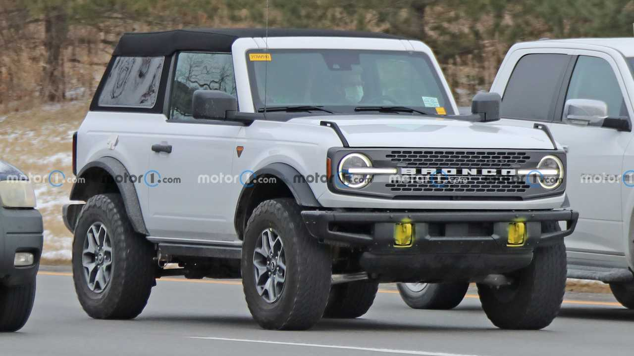 Ford Bronco with soft top