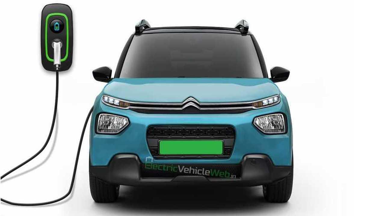 Citroën électrique Inde 2021