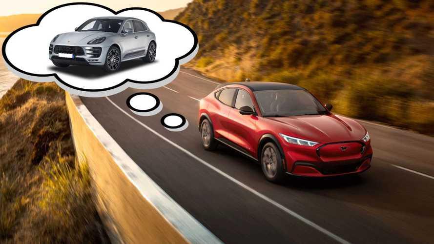 Ford Mustang Mach-E's Development Target Was The Porsche Macan