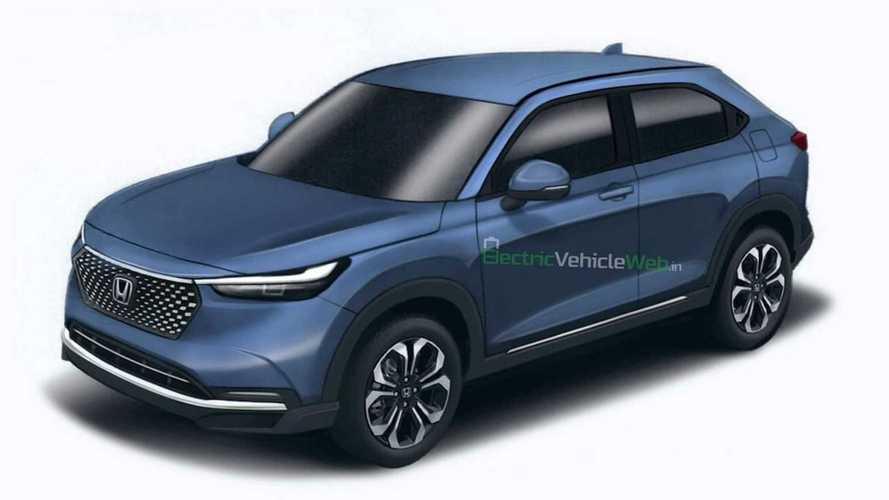 Novo Honda HR-V, que terá versão híbrida, antecipa visual em projeção
